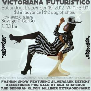Sirens in Space: Victoriana Futuristico Fashion Show