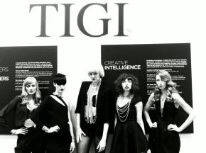 Ophelia Darkly Rocks the TIGI Americas Beauty Show