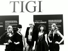 Ophelia Darkly Rocks the TIGI Americas BeautyShow