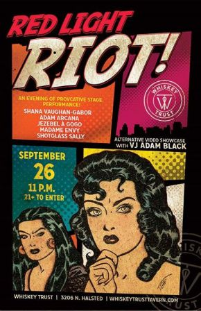 Today's Event- Red Light Riot with SethNayes
