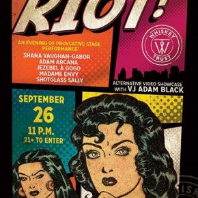 Today's Event- Red Light Riot with Seth Nayes