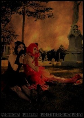 Halloween Fun- Little Alice, Ophelia Darkly, and Coma Pill Photography
