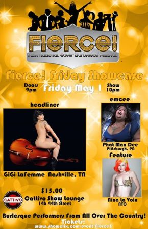 Today's Event – Fierce! Festival 2015 – Friday Showcase