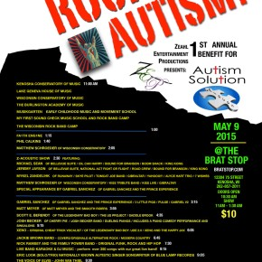Today's Event – The Music Rocks 4 Autism! – 1st Annual Benefit for Autism SolutionPieces